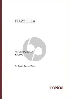 Piazzolla Kicho Kontrabass-Klavier