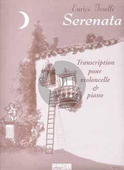Toselli Serenata Op. 6 Violoncelle et Piano