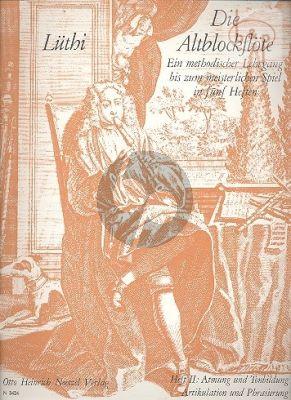 Die Altblockflote Vol.2 Atmung und Tonbildung- Artikulation und Phrasierung