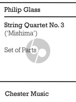 "Glass Quartet Nr.3 ""Mishima"" Set of Parts"