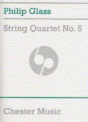 Glass String Quartet No. 5 Score