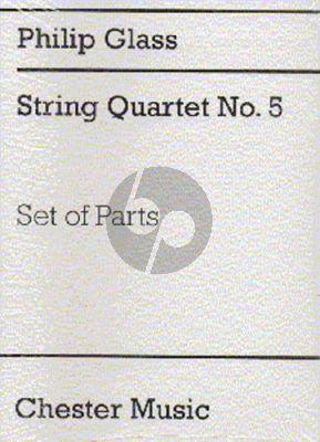 Glass String Quartet No. 5 Parts