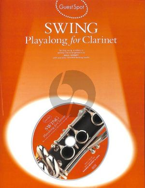 Guest Spot Swing Playalong clarinet book-CD