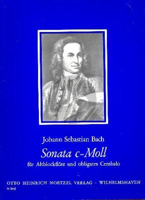 Bach Sonata c-minor (orig. h-moll) BWV 1030 (edited by Christa Sokoll)