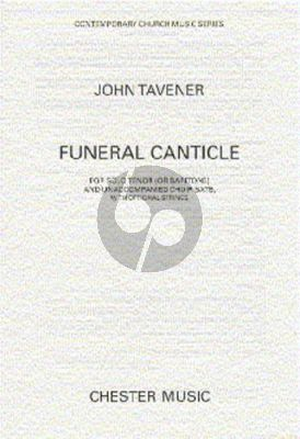 Tavener Funeral Canticle Tenor solo with SATB
