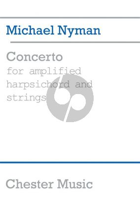 Nyman Concerto for Amplified Harpsichord and Strings Score