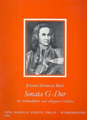 Bach Sonata G-major (orig. A-major) BWV 1032 (Christa Sokoll)
