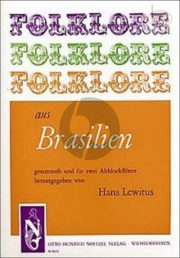 Folklore aus Brasilien 2 Altblockflöten