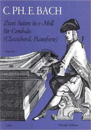 Bach 2 Suiten Wq 62 No. 12 - Wq 65 No. 4 Cembalo (Hugo Ruf)