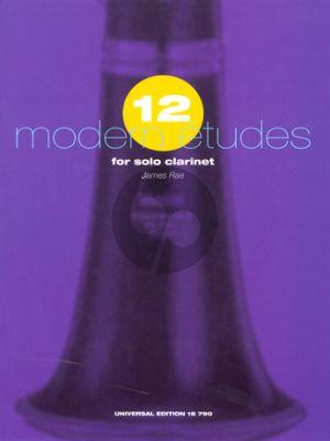 Rae 12 Modern Etudes for Clarinet