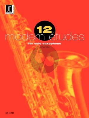 Rae 12 Modern Etudes for Saxophone (Advanced)