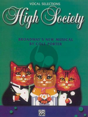 Porter High Society Vocal Selections (Broadway's New Musical)