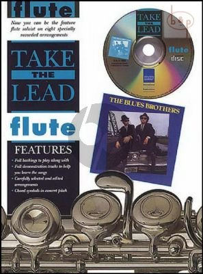 Take the Lead Blues Brothers Flute (Bk-Cd) (interm.)