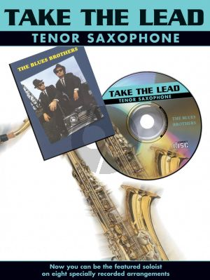 Take the Lead Blues Brothers Tenor Sax. (Bk-Cd) (interm.)