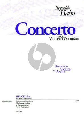 Concerto Violon et Orchestre