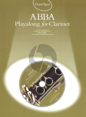 Guest Spot Playalong for Clarinet (Bk-Cd) (interm.)