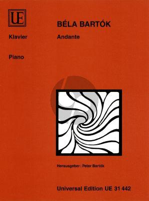 Bartok Andante Klavier