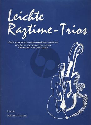 Leichte Ragtime Trios (3 Vc.)