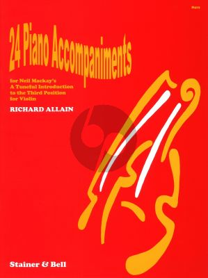 Mackay Tuneful Introduction to the Third Position Piano Accompaniment (LET OP DIT IS DE PIANOBEGELEIDING) (edited by Richard Allain)