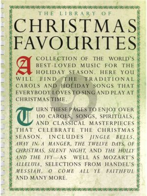 Library of Christmas Favourits Piano-Vocal-Guitar