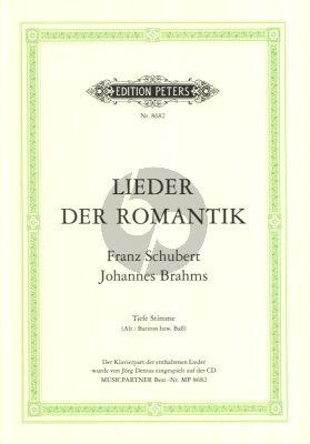 Lieder der Romantik Alt / Bariton bsw.Bass (Buch mit CD)