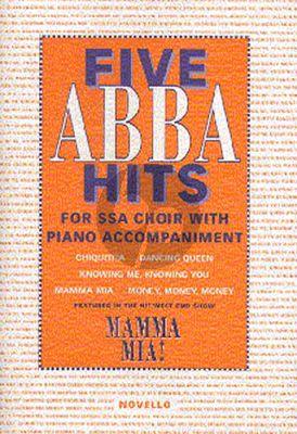 5 Abba Hits (SSA-piano
