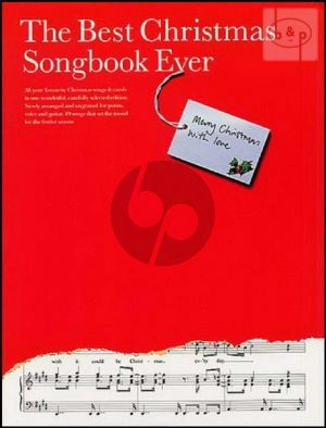 Best Christmas Songbook Ever Piano-Vocal-Guitar
