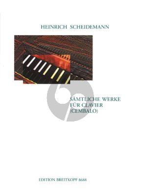 Scheidemann Samtliche Werke (Clavier/Cembalo) (Dirksen)