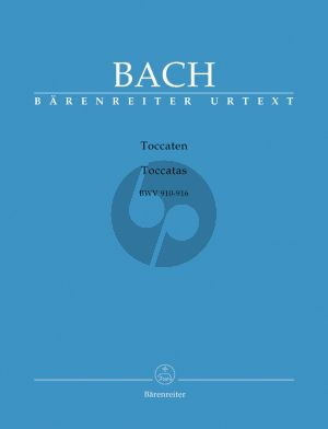 Bach Toccaten BWV 910-916 Klavier (edited by Peter Wollny)