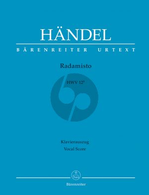 Handel Radamisto HWV 12B Klavierauszug (it./dt.) (Opera seria in tre atti 2. Fassung) (Terence Best)