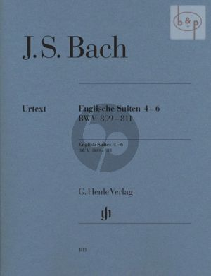 Englische Suiten Vol.2 (No.4 - 6) Klavier (edited by Rudolf Steglich)
