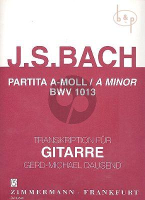 Partita a-moll BWV 1013
