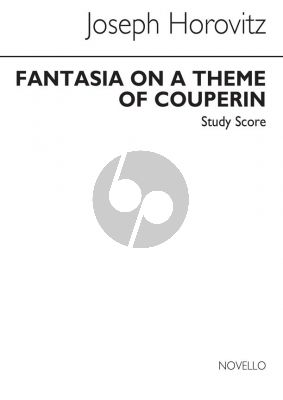 Horovitz Fantasia on a Theme of Couperin Study Score