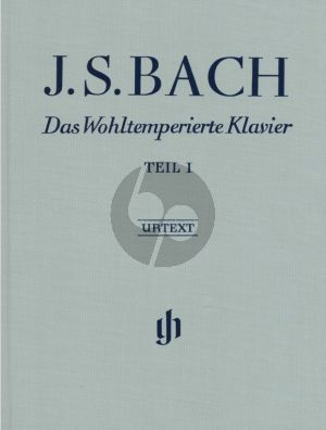 Bach Wohltemperierte Klavier Vol.1 BWV 846-869 (Leinen/Hardcover) (edited by Ernst-Günter Heinemann / Fingering Andras Schiff) (Henle-Urtext)