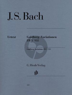 Bach Goldberg Variationen Aria mit verschiedene veranderungen BWV 988 Klavier (Herausgegeven von Rudolf Steglich, Fingersatz Hans-Martin Theopold) (Henle-Urtext)