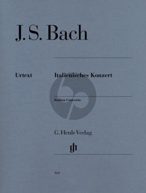 Bach Italienisches Konzert BWV 971 Klavier (edited by Rudolf Steglich)