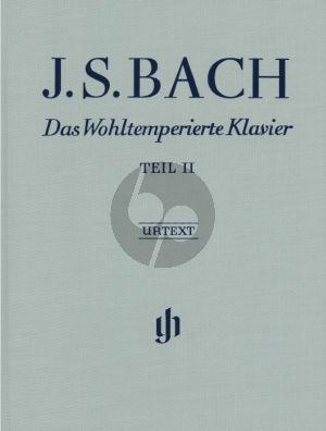 Bach Wohltemperierte Klavier Vol.2 BWV 870-893 (Leinen/Hardcover) (edited by Yo Tomita fingering by Andras Schiff) (Henle-Urtext)