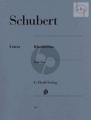 Klaviertrios Op.99 (D 898)-Op.100 (D 929) Sonatensatz (D 28) Adagio Op.Posth.148