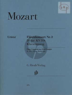 Konzert D-dur KV 314 (285D) Flöte und Orchester (KA)