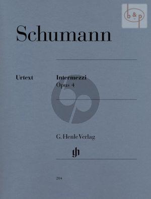 Intermezzi Op. 4 Piano
