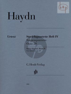 Streichquartette Vol.4 Op.20 (Stimmen) (Edited by Georg Feder & Sonja Gerlach)