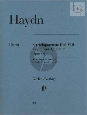 Streichquartette Vol.8 Op.64 (Stimmen) (edited by Kirkendale-Saslav-Feder)