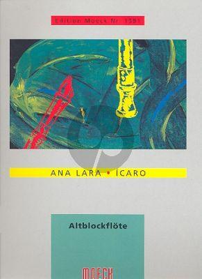 Lara Icaro Altblockflöte allein (1990)