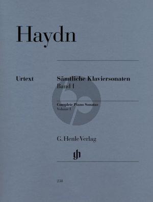 Haydn Samtliche Sonaten Vol.1 Klavier (edited by Georg Feder) (fingerings by Hans-Martin Theopold)