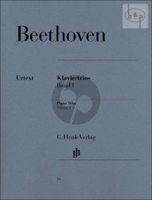 Klaviertrios Vol. 1 Part./Stimmen