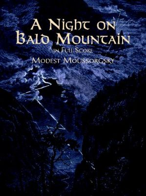 Mussorgsky A Night on the Bald Mountain Full Score (Dover)