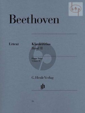 Beethoven Klaviertrios Vol. 2 Part./Stimmen (Günter Raphael)