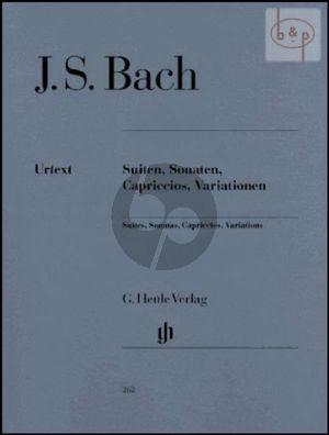 Suiten-Sonaten-Capriccios-Variationen Klavier