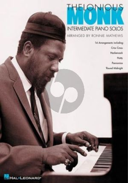 Thelonious Monk – Intermediate Piano Solos (arr. Ronnie Matthews)