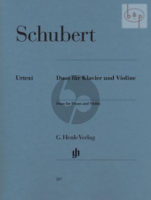 Duos Violine-Klavier (edited by Ernst Herttrich) (fingering by H.M.Theopold)